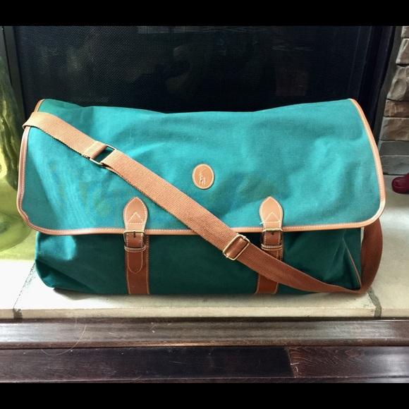 bba011d894 Polo Ralph Lauren Large Duffle Weekender Overnight.  M 5b84594b9e6b5b5576c20850. Other Bags ...
